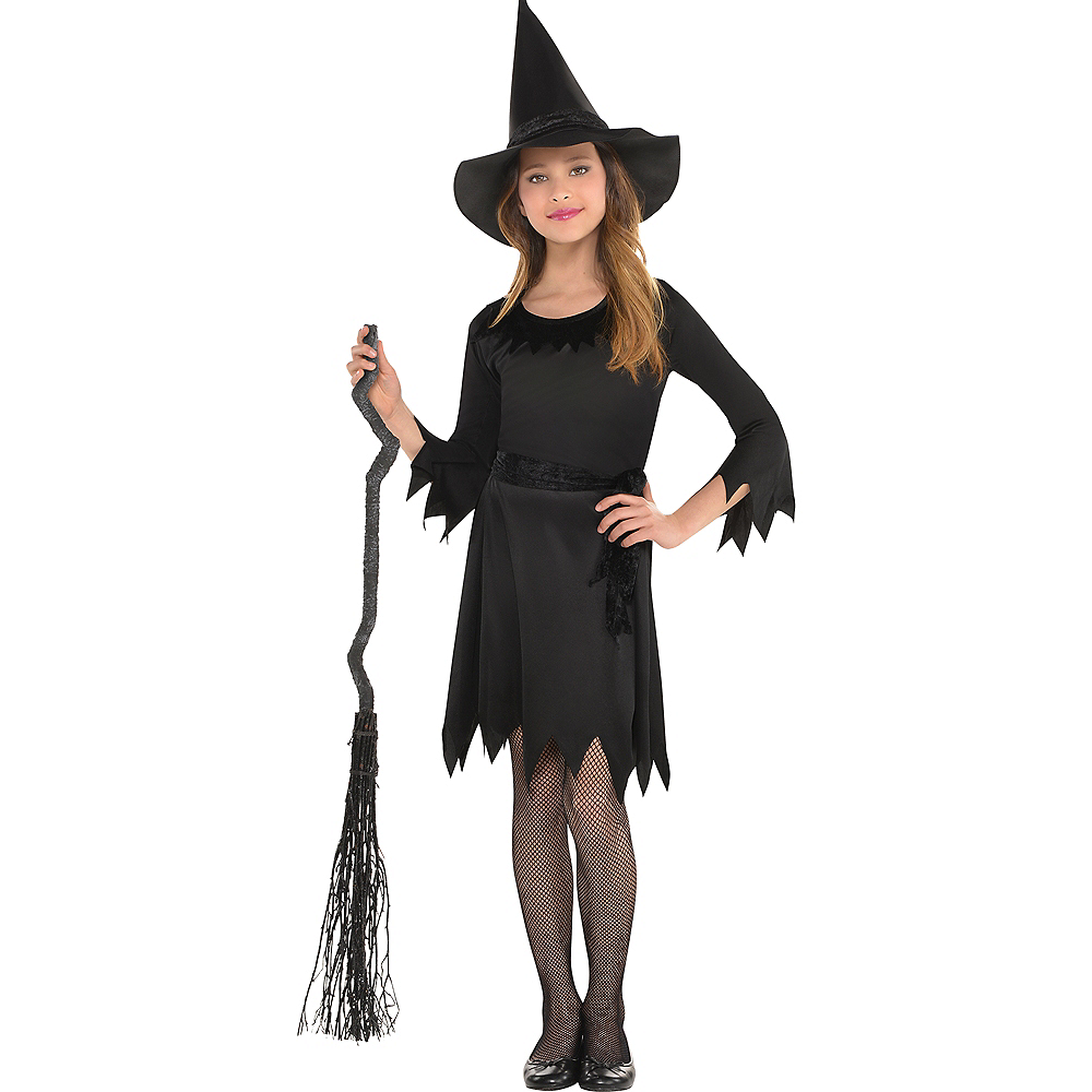 Girls Lil Witch Costume Image #1