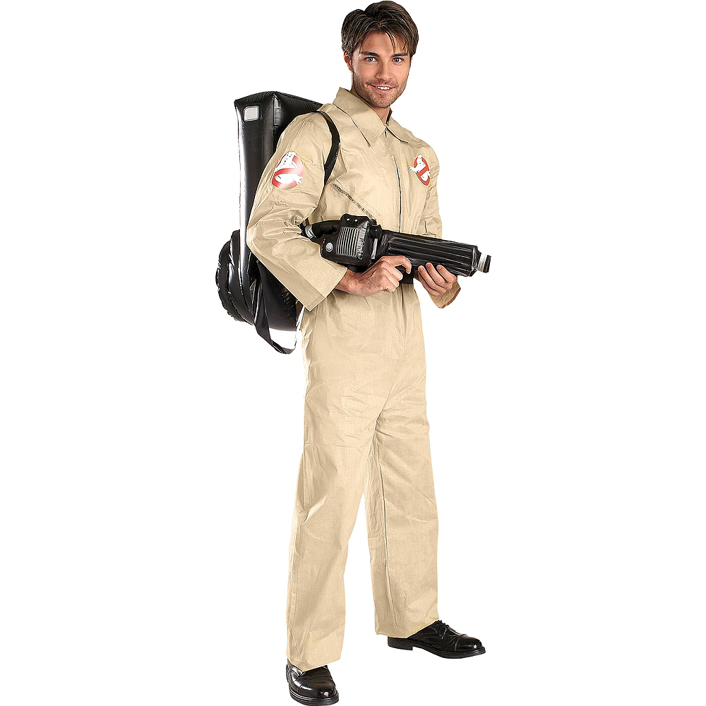 Adult Ghostbusters Costume Image #1