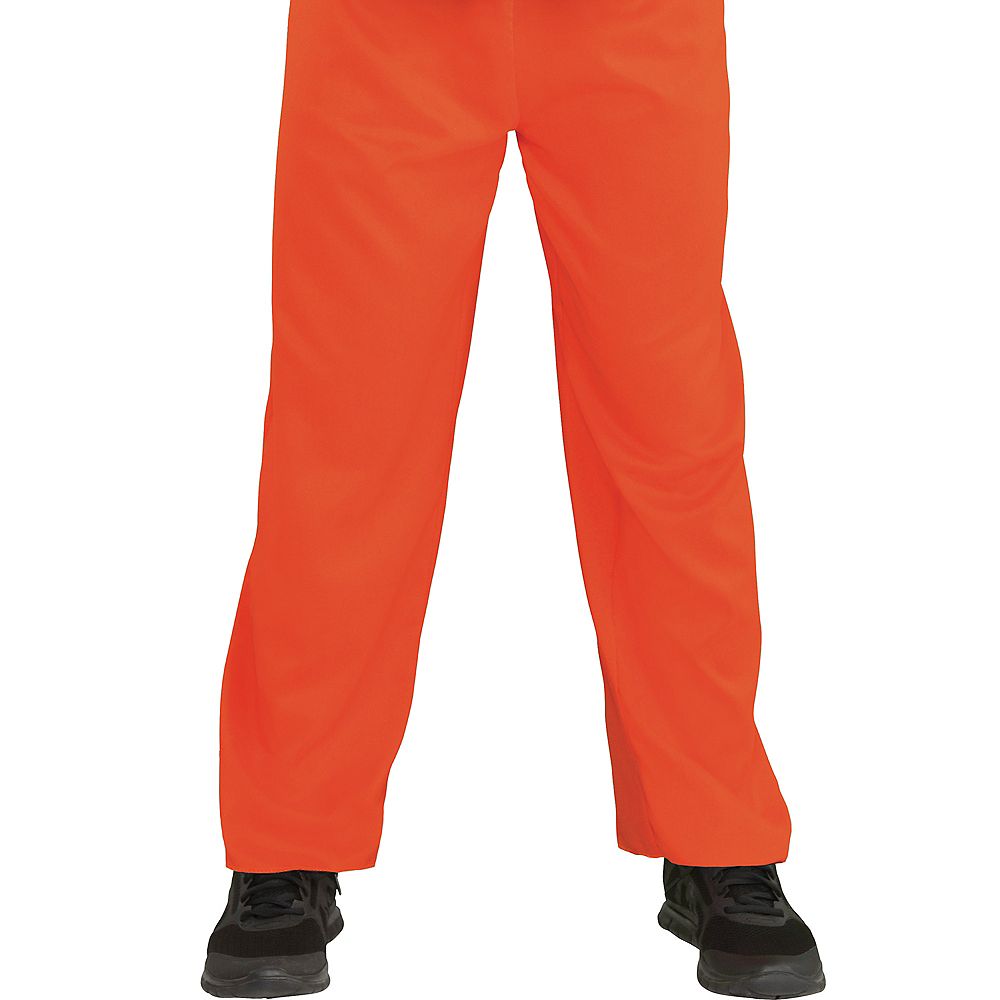 Adult Inmate Convict Prisoner Costume Image #3
