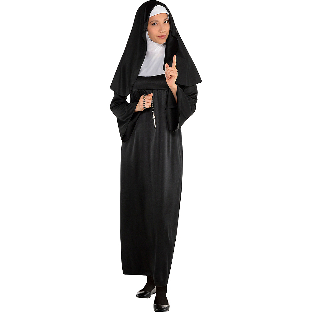 7769b6240 Adult Holy Sister Nun Costume Image  1 ...