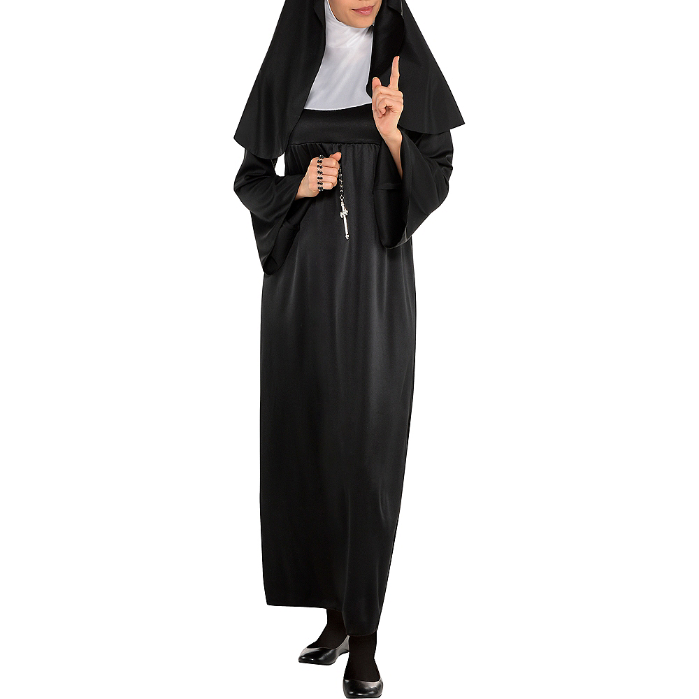 Nav Item for Adult Holy Sister Nun Costume Image #4