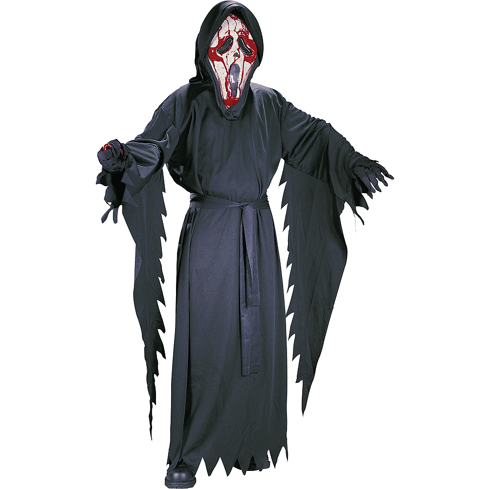 Boys Bleeding Ghost Face Costume - Scream Image #1