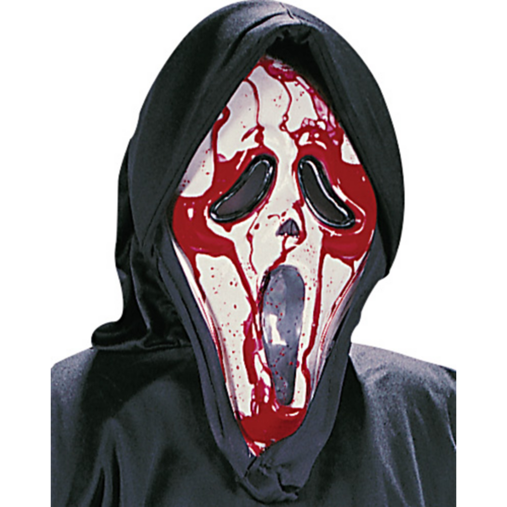 Nav Item for Boys Bleeding Ghost Face Costume - Scream Image #2
