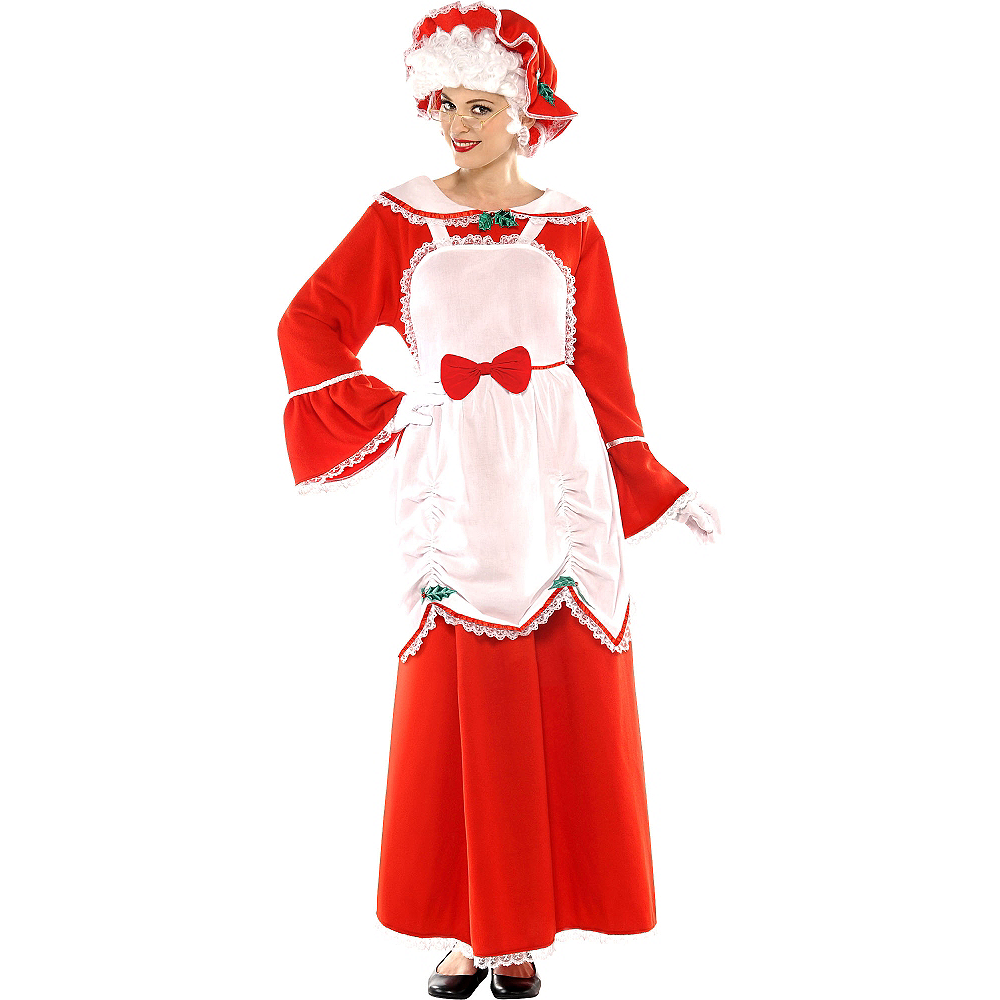 Nav Item for Adult Mrs. Claus Costume Image #1