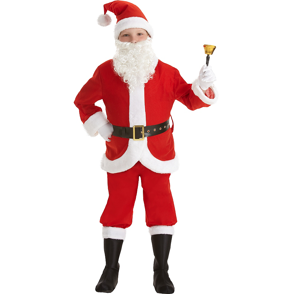 Boys Santa Suit Costume