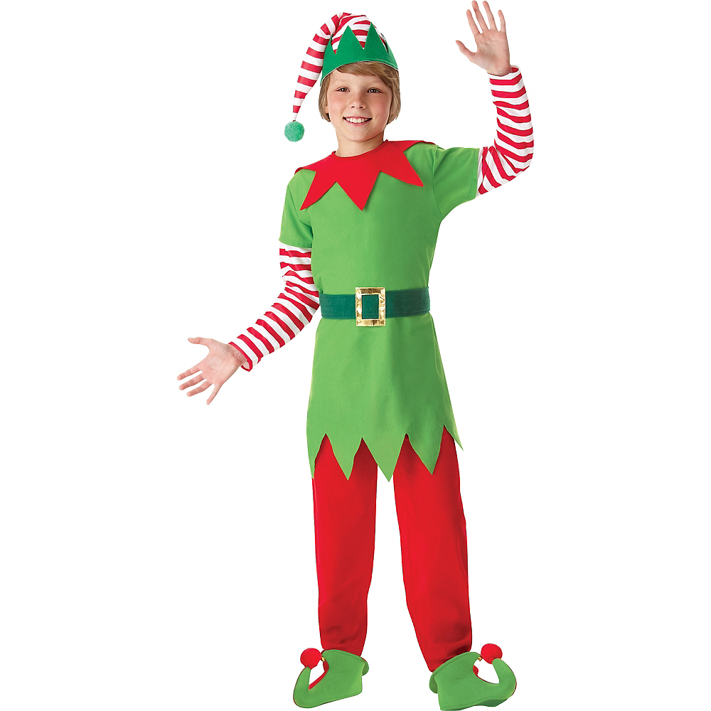Boys Elf Costume Image 1
