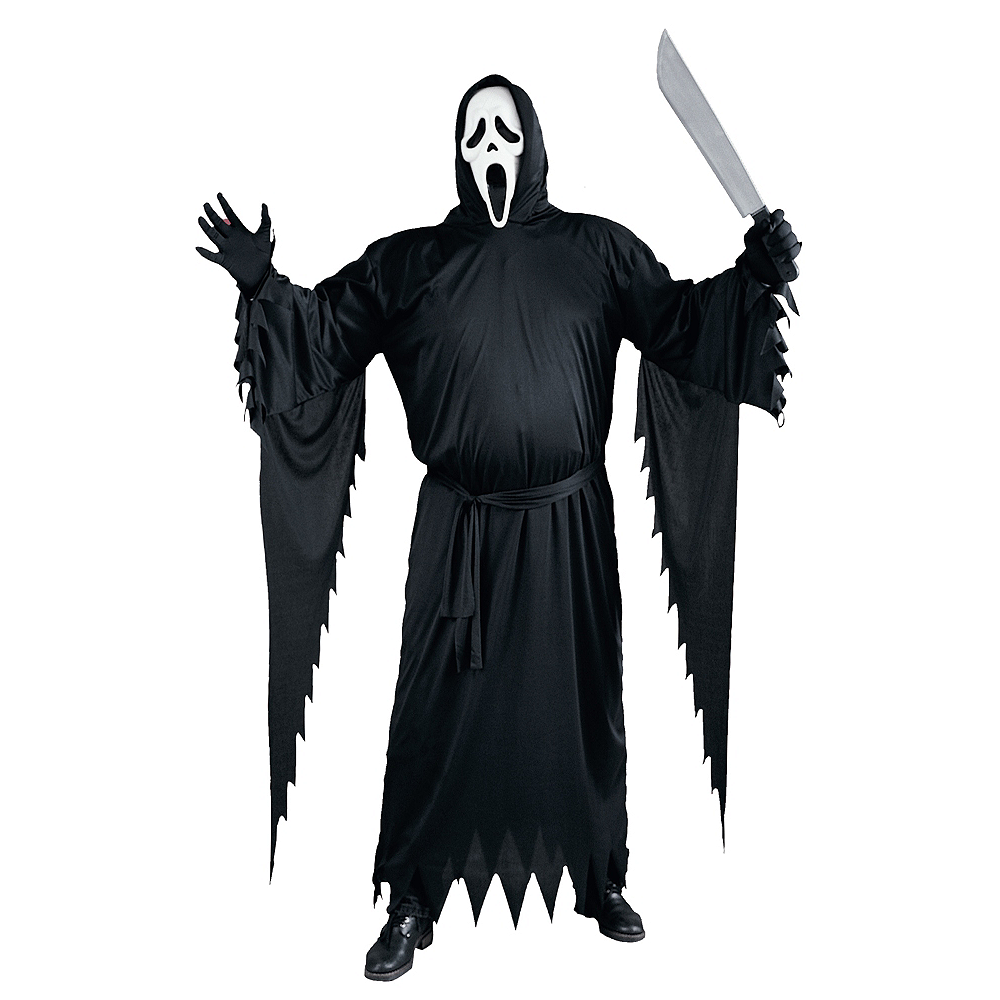 Adult Ghost Face Costume Plus Size Scream Party City
