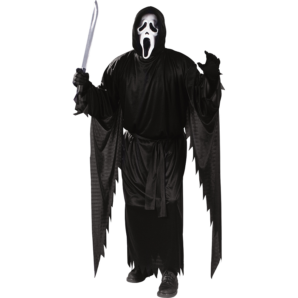 Ghostface Scream Costume For Adults Party City