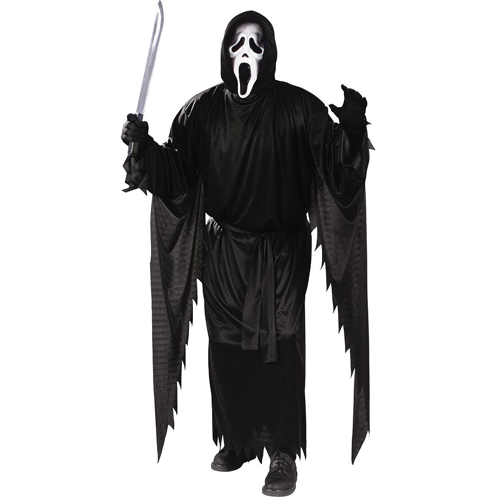 Adult Ghost Face Costume - Scream Image #1