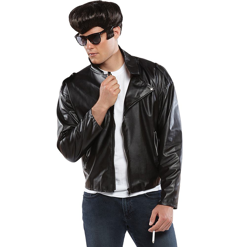studded greaser jacket party city