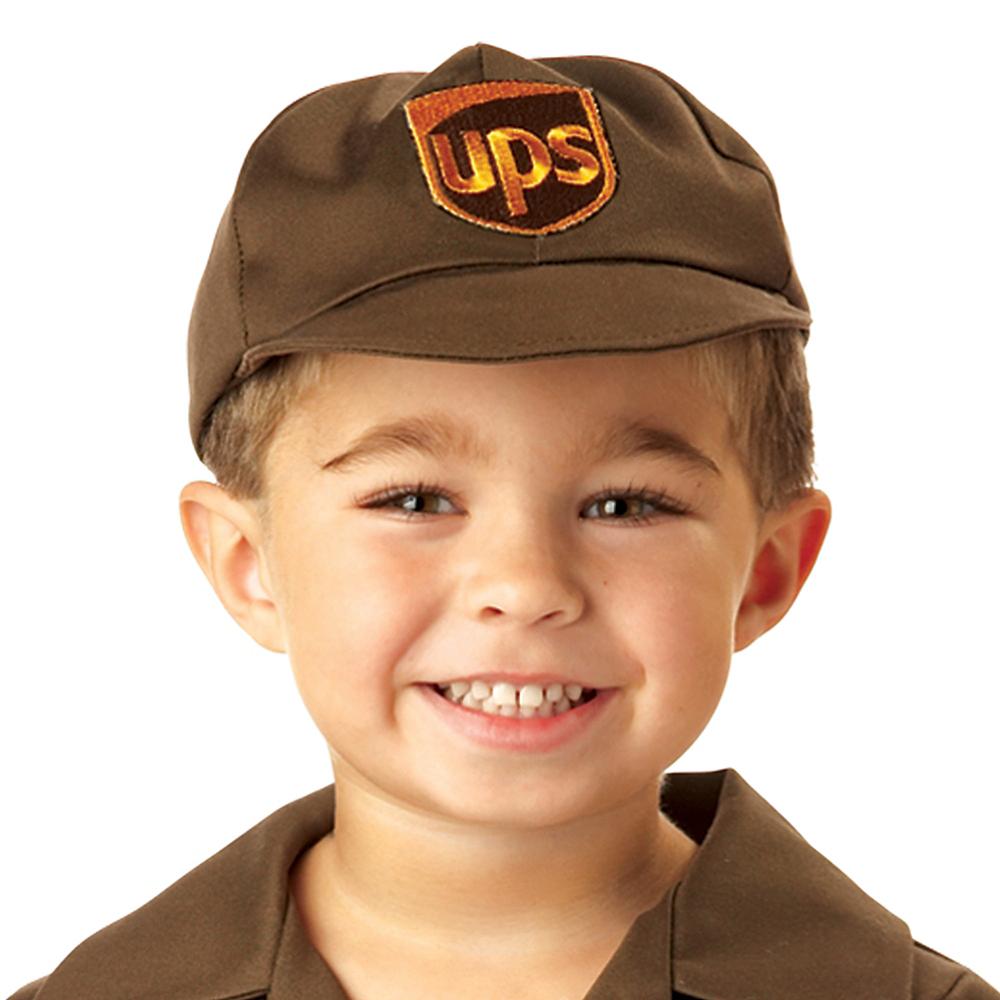 Toddler Boys UPS Driver Costume Image #3