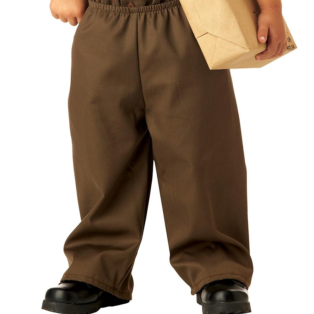 Toddler Boys UPS Driver Costume Image #4