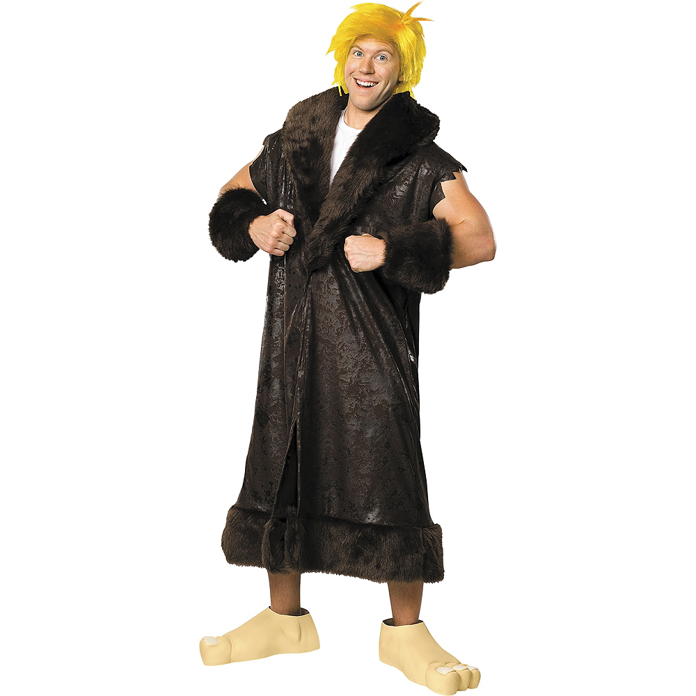 Adult Barney Rubble Costume Image #1
