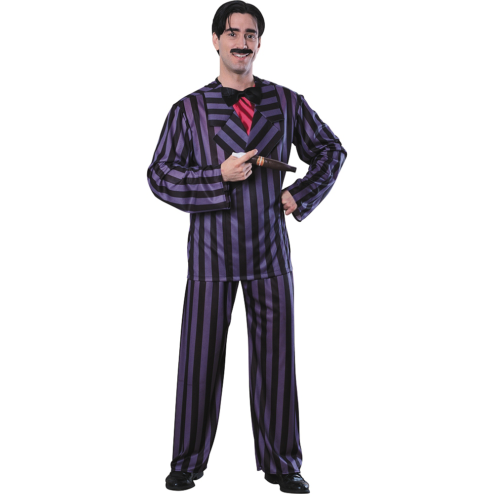 Nav Item for Adult Gomez Addams Costume Deluxe - Addams Family Image #1