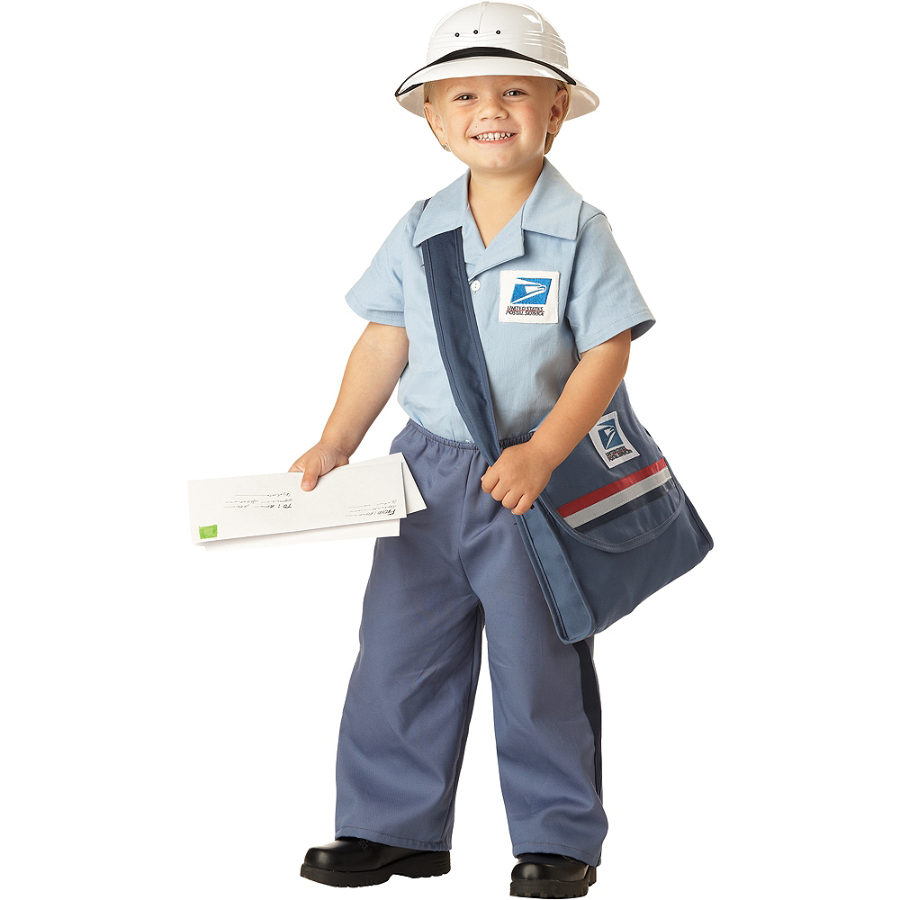 Toddler Boys Mr. Mailman Costume Image #1