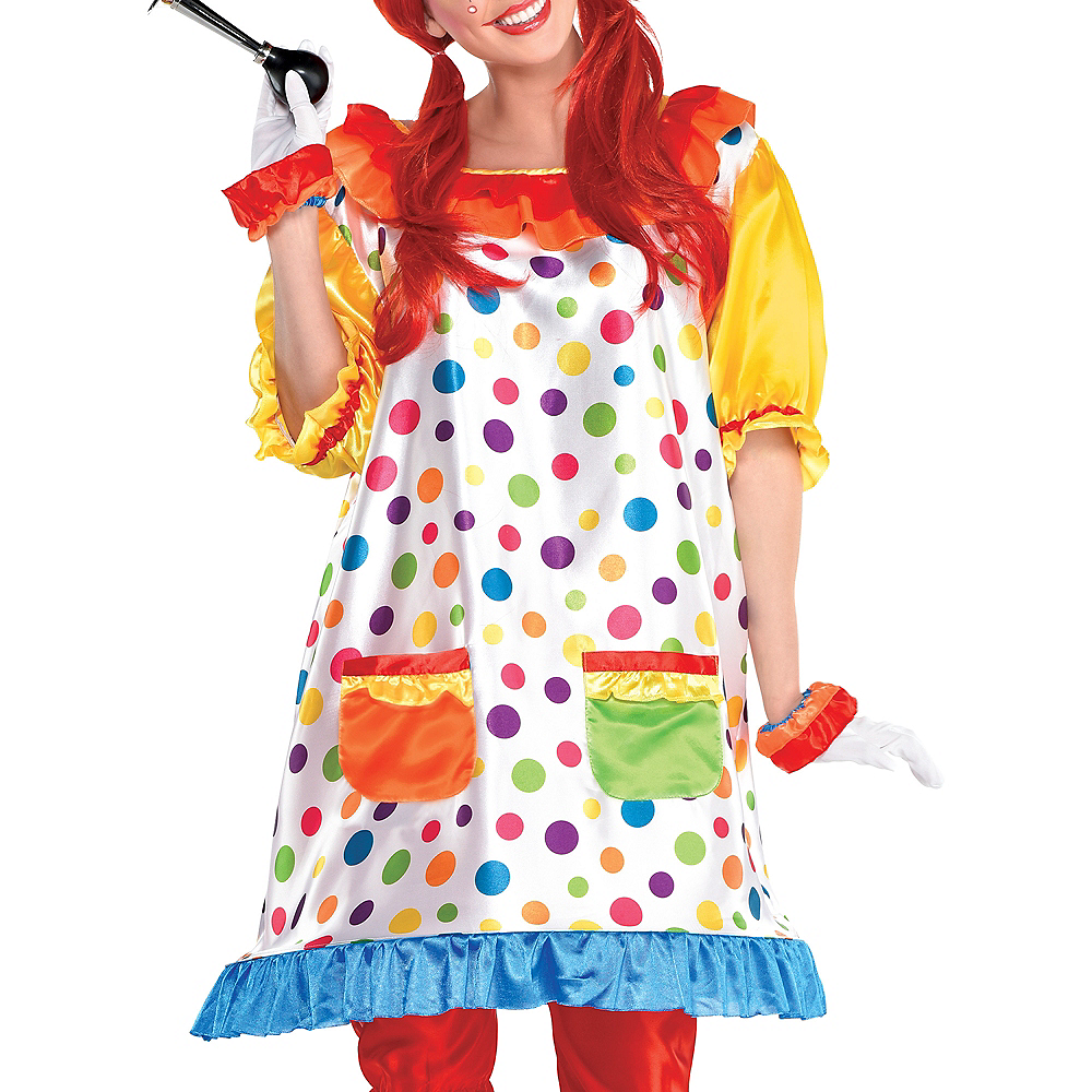 Adult Clown Girl Costume Image #2