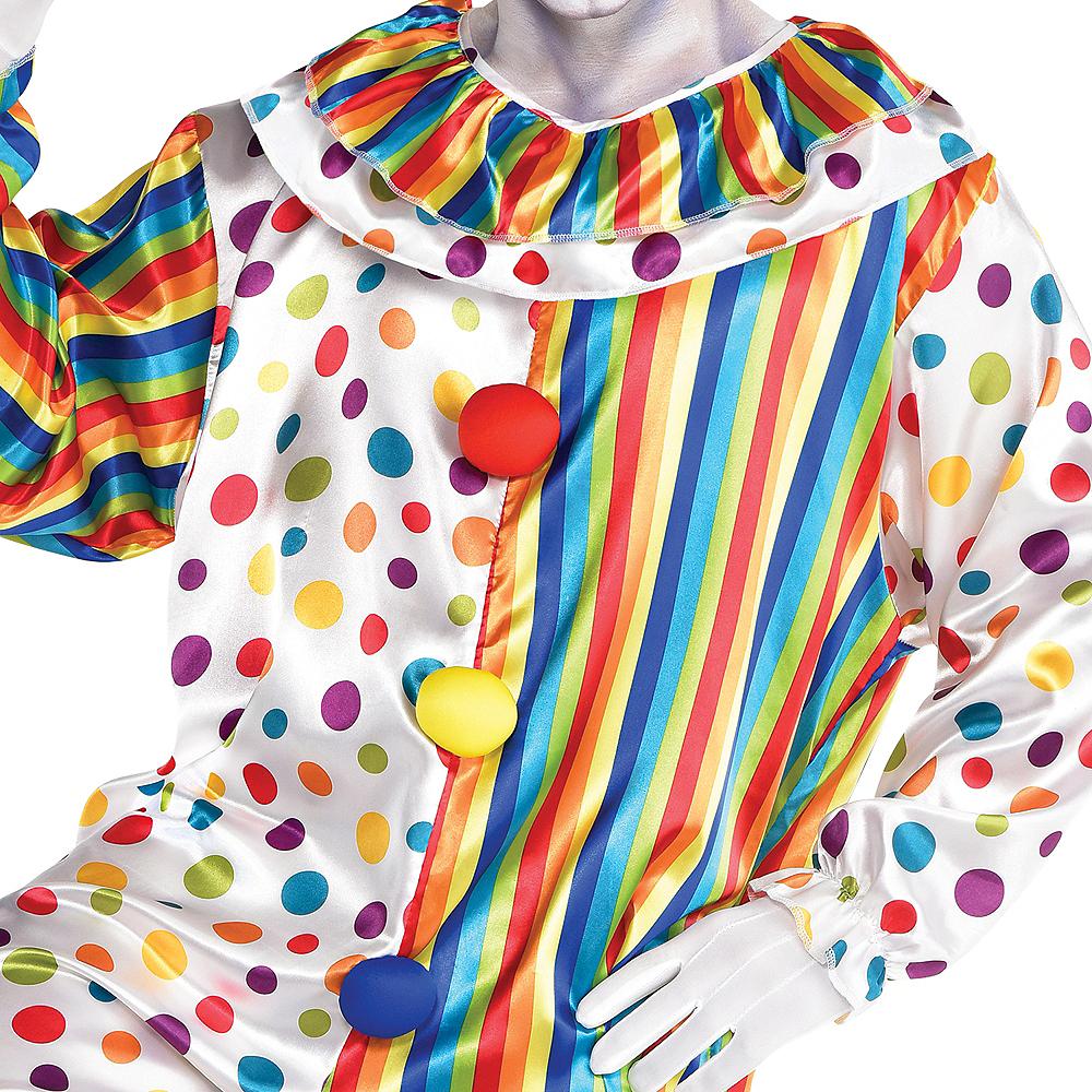 Adult Clown Jumpsuit Costume Image #2