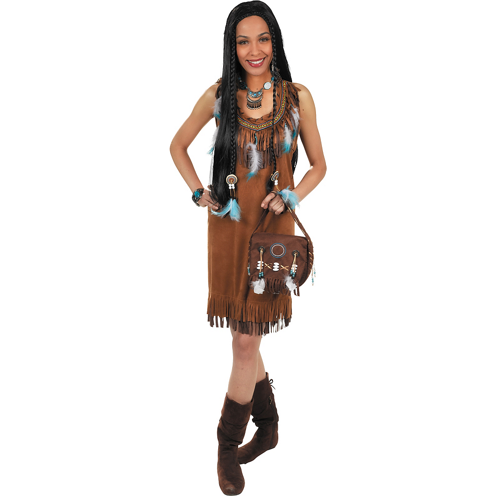 Adult Native American Costume Image #1
