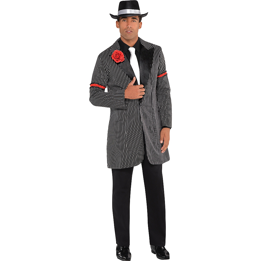 Black & White Zoot Suit Jacket Image #1