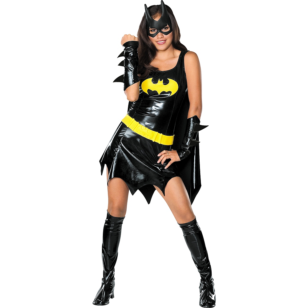 Nav Item for Teen Girls Batgirl Costume - Batman Image #1