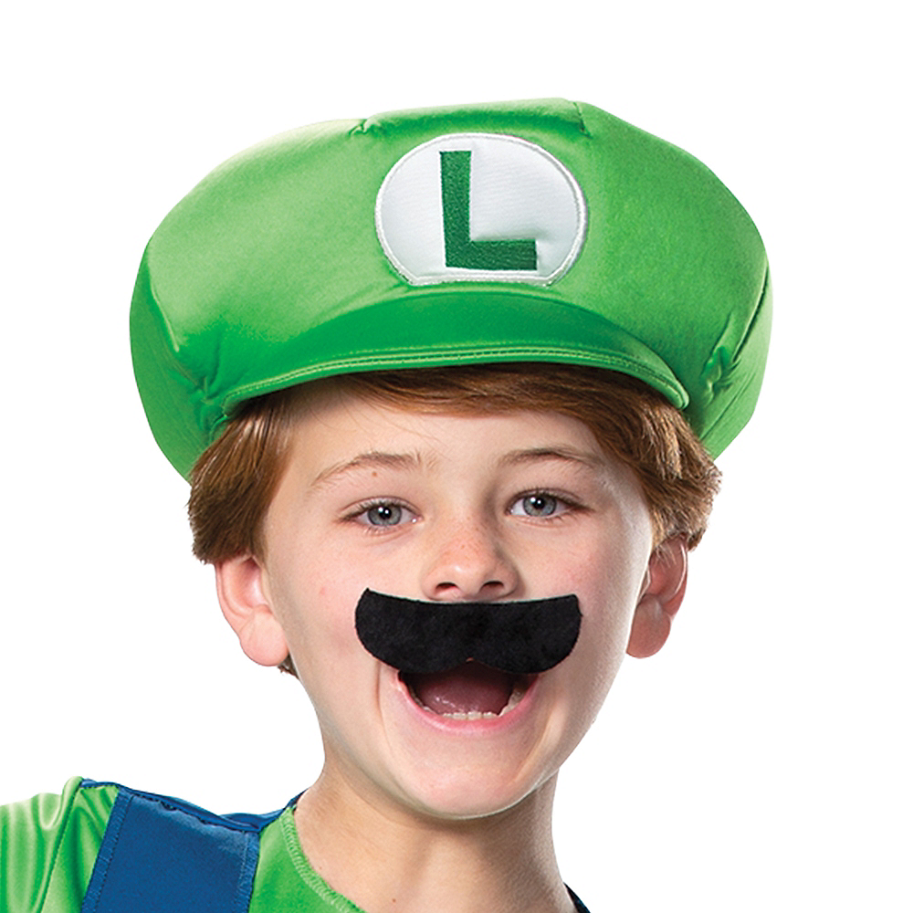 Nav Item for Boys Luigi Costume Deluxe - Super Mario Brothers Image #2