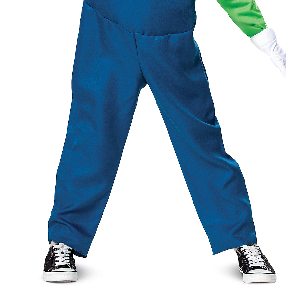 Nav Item for Boys Luigi Costume Deluxe - Super Mario Brothers Image #4