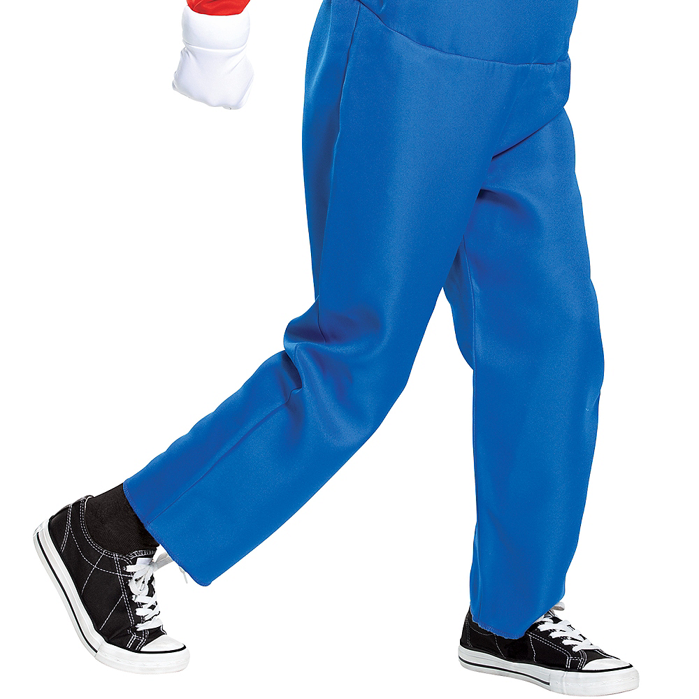 Nav Item for Boys Mario Costume Deluxe - Super Mario Brothers Image #4