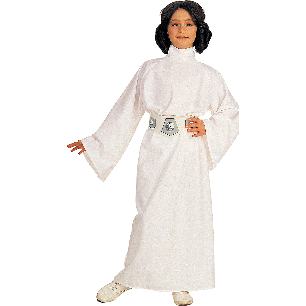 Star Wars Deluxe Princess Leia Costume For Girls