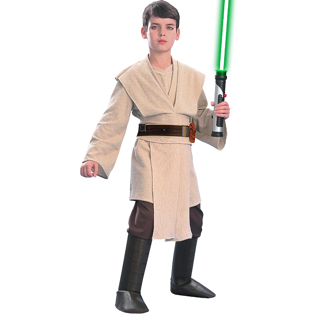 Nav Item for Boys Jedi Costume Deluxe - Star Wars Image #1