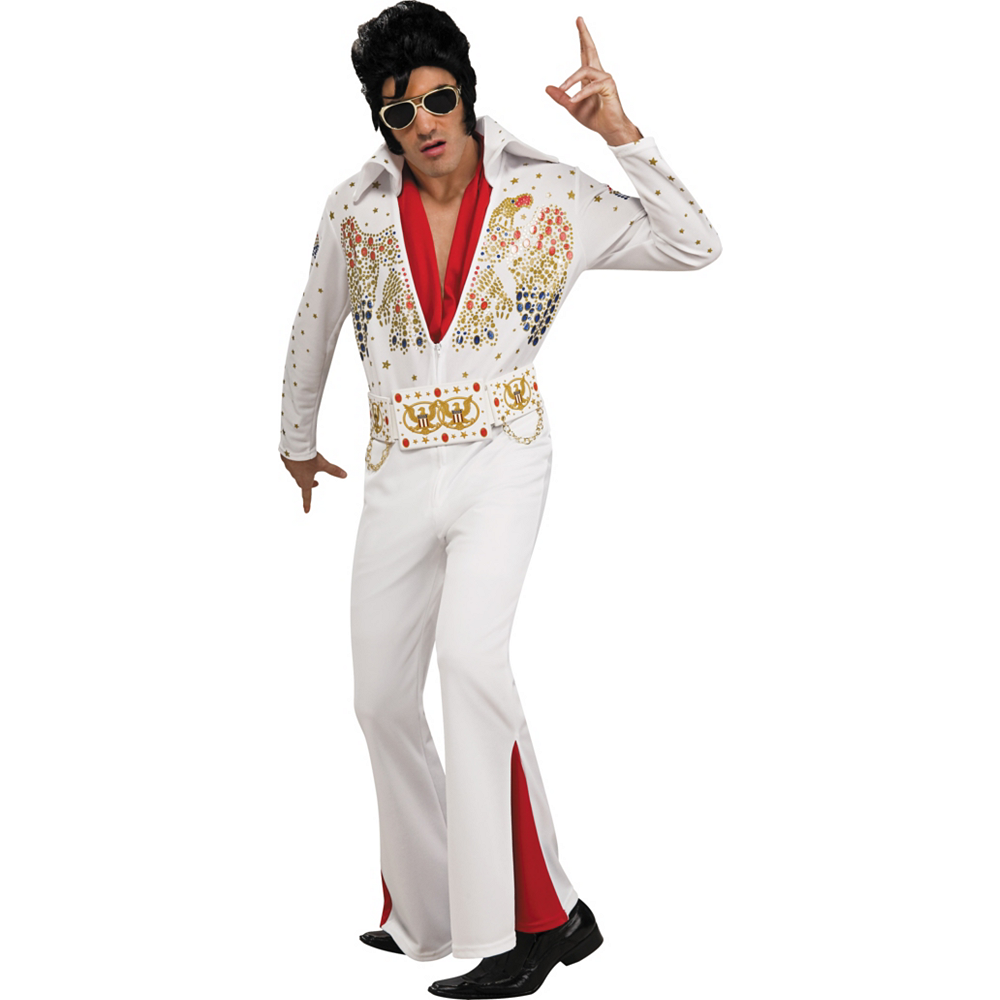 Nav Item for Adult Elvis Presley Costume Deluxe Image #1