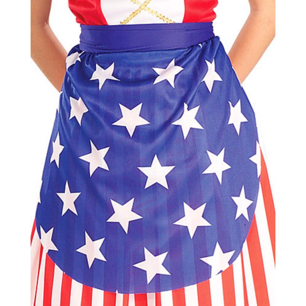 Girls Betsy Ross Costume Image #2