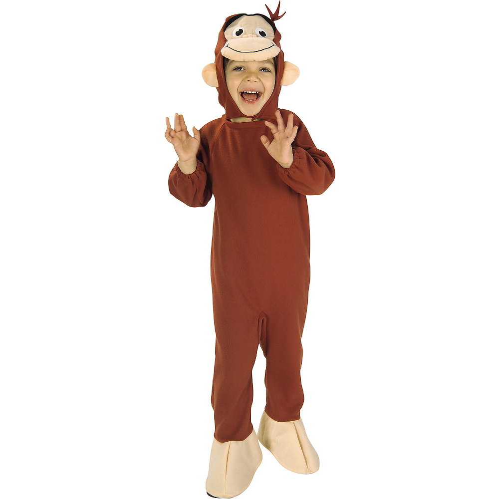 Toddler Boys Curious George Costume Image #1