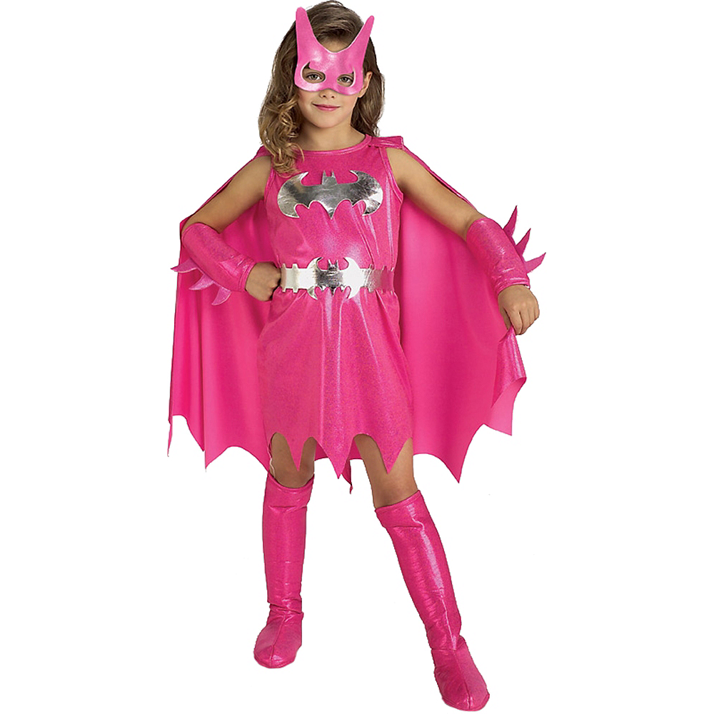 Girls Pink Batgirl Costume Batman