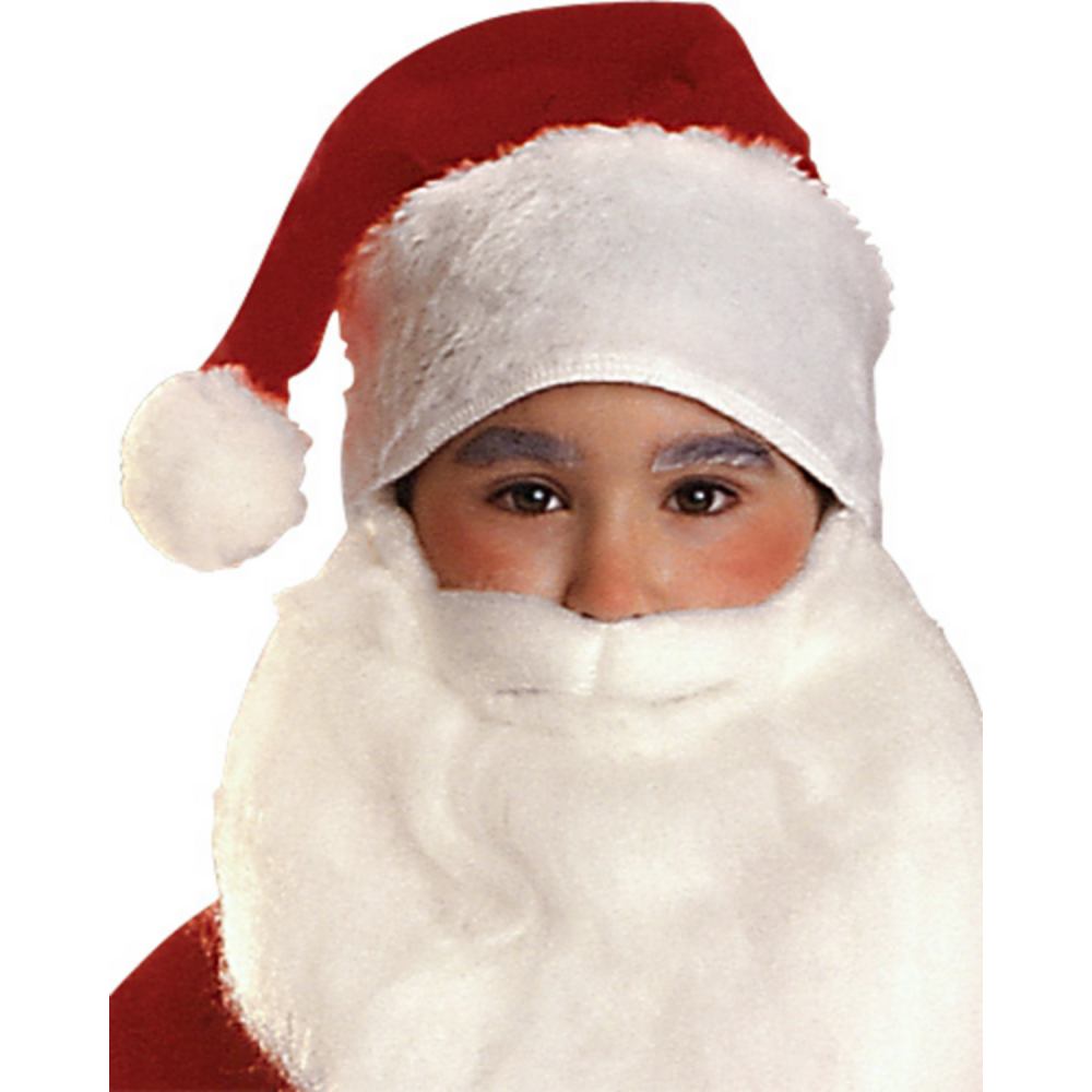 Nav Item for Boys Plush Santa Suit Deluxe Image #2