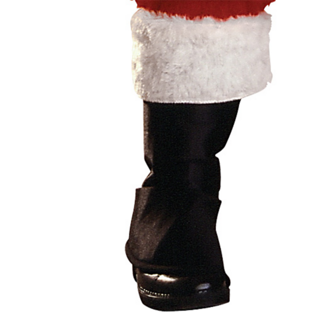 Boys Plush Santa Suit Deluxe Image #4