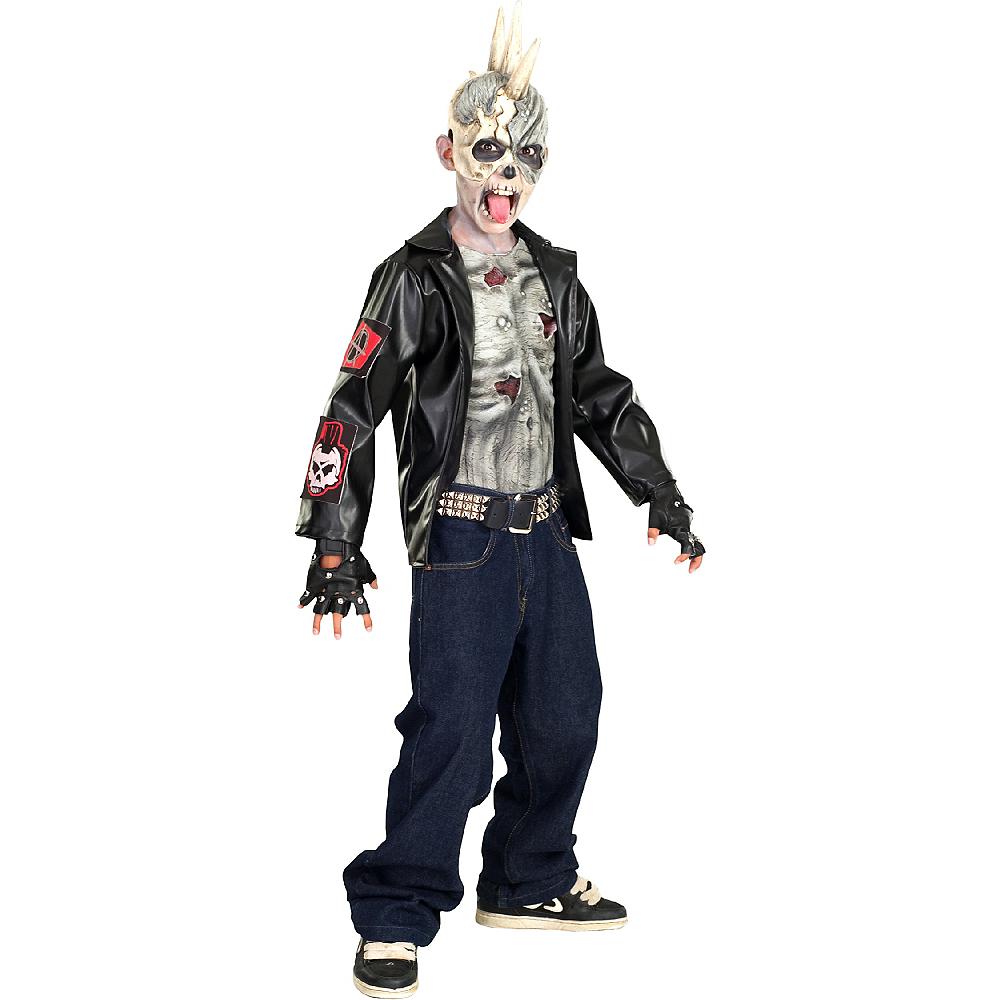 Boys Punk Zombie Costume Image #1