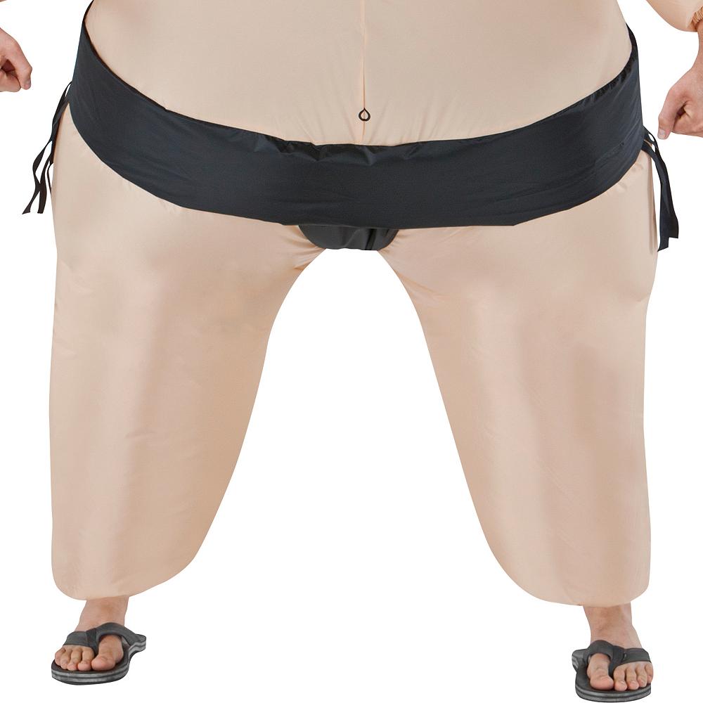Adult Inflatable Sumo Wrestler Costume Image #3