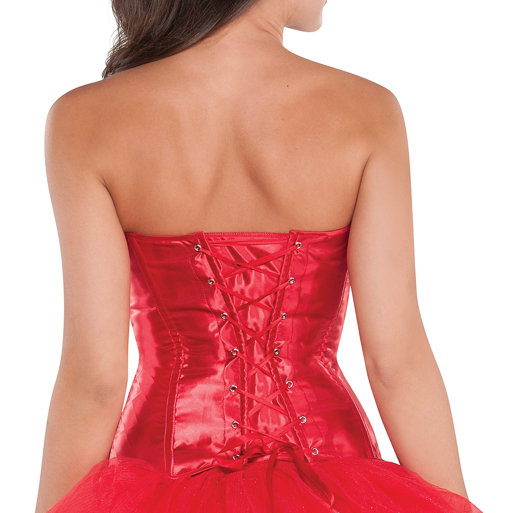 Classic Red Corset Image #3