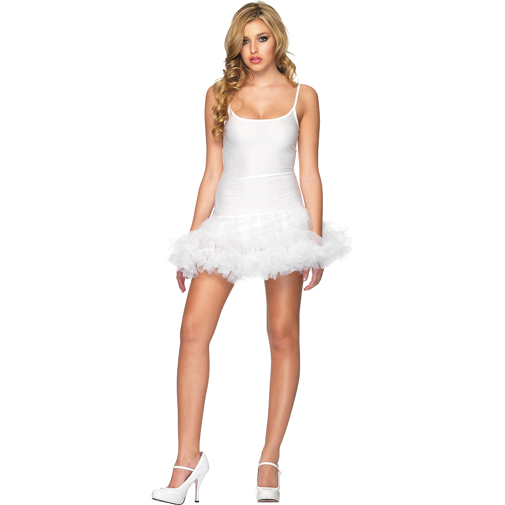 White Petticoat Dress Image #1