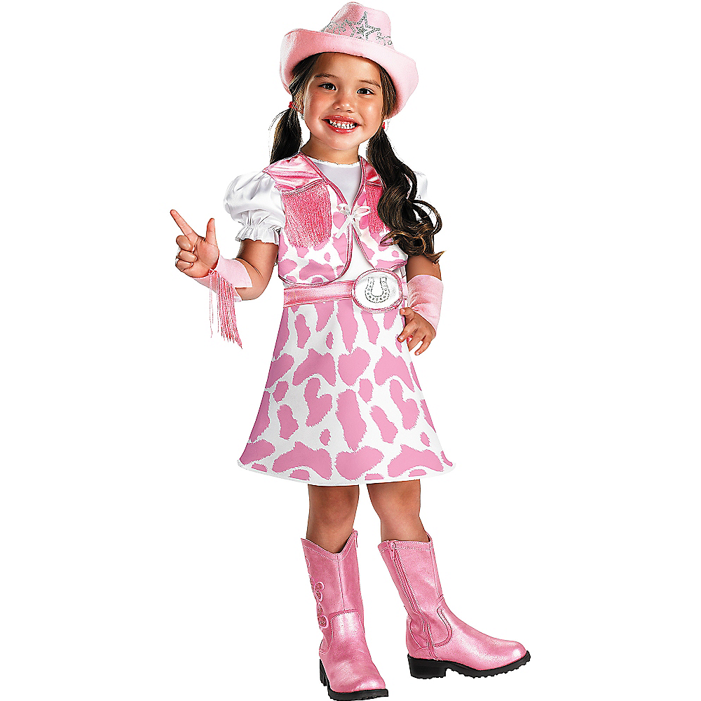 Toddler Girls Wild West Cutie Cowgirl Costume Party City