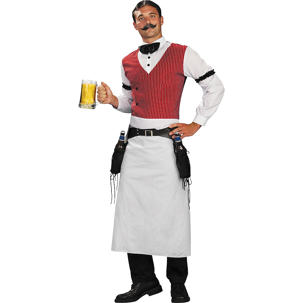 Adult Old West Bartender Costume Image #1