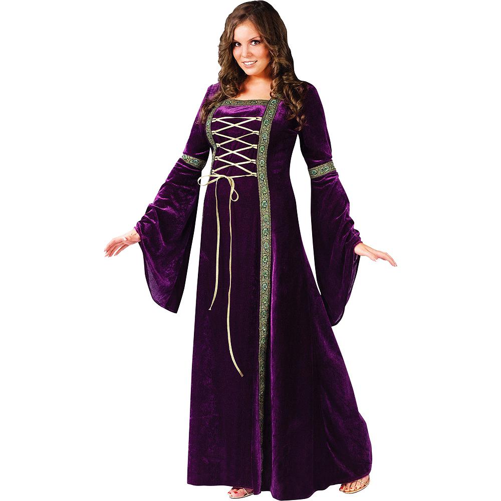 Adult Renaissance Faire Lady Costume Plus Size Image #1