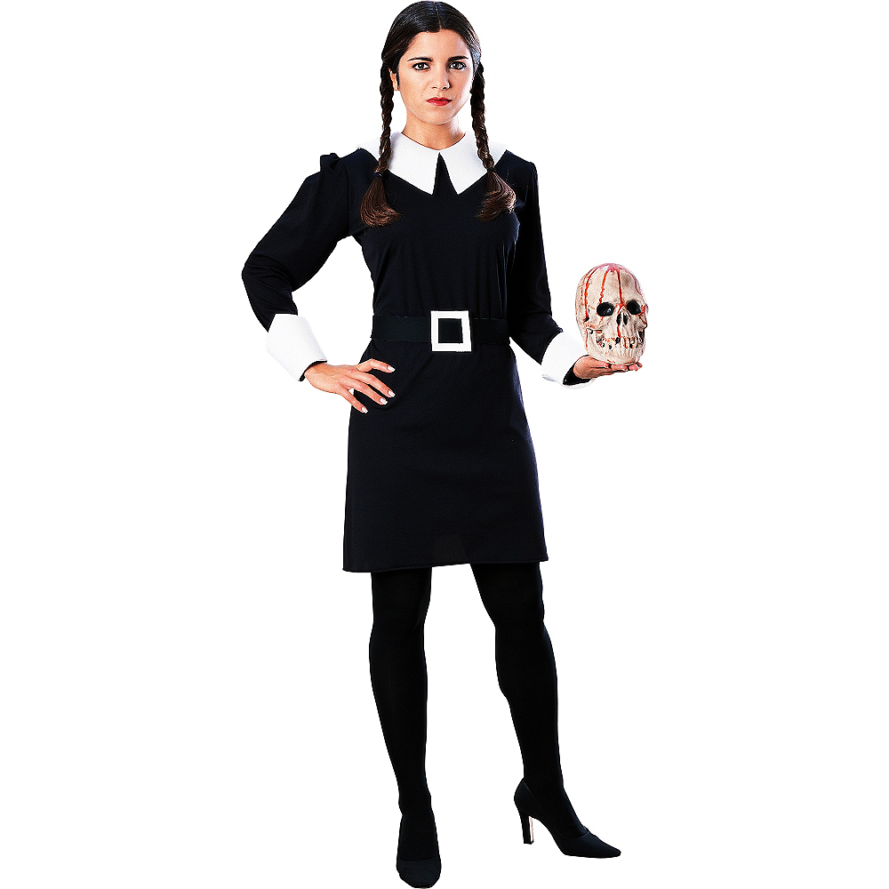 Image result for wednesday addams costume
