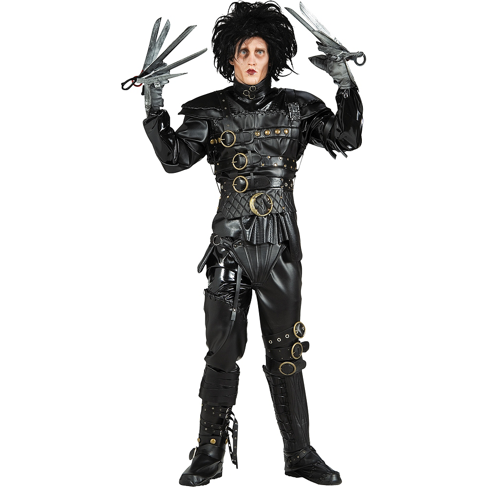 Adult Edward Scissorhands Costume Grand Heritage Image #1