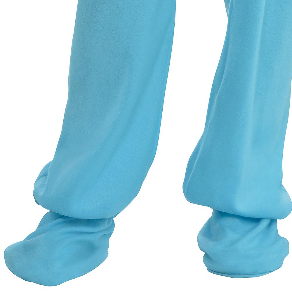 Adult Blue Footie Pajamas Costume Image #2