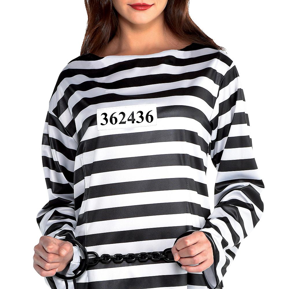 Adult Lady Lawless Prisoner Costume Image #3