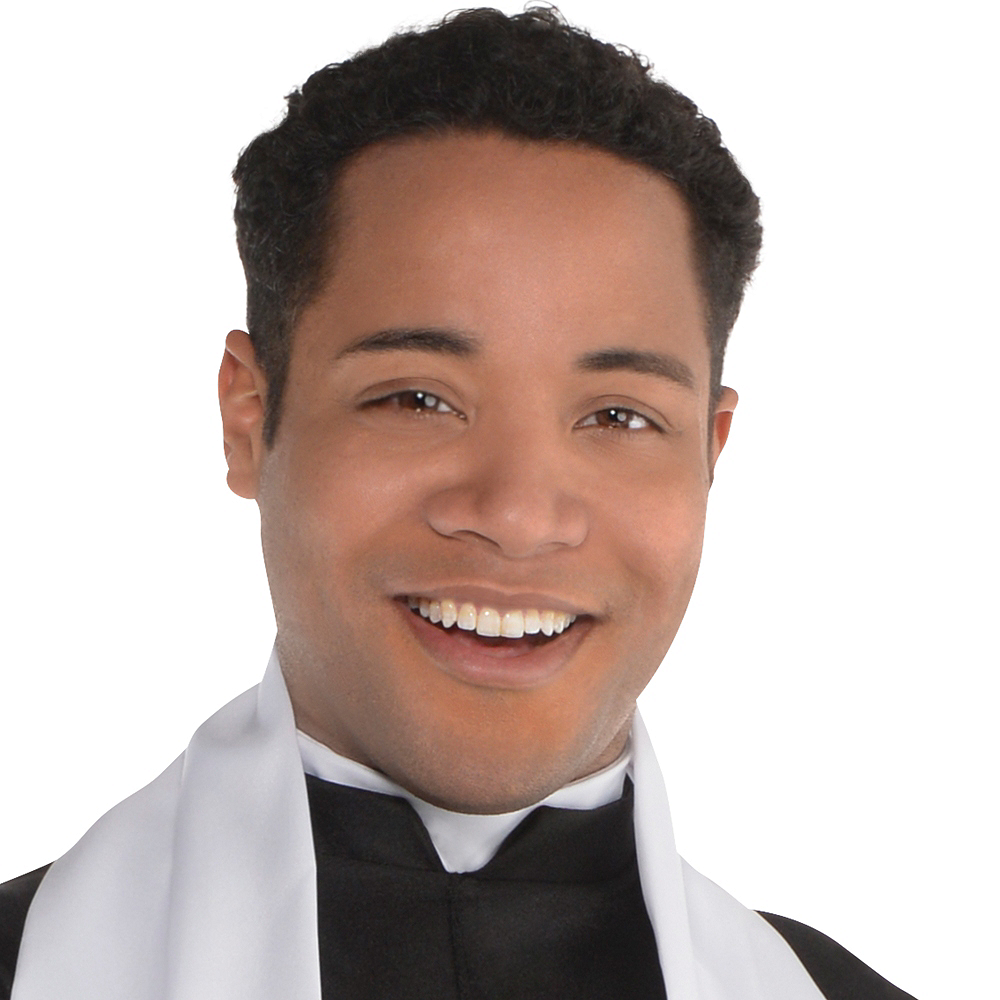 Adult Father Priest Costume Image #2