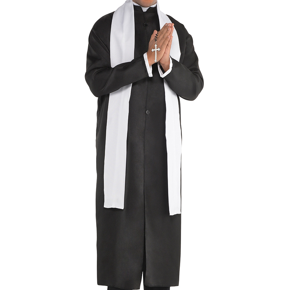 Adult Father Priest Costume Image #3