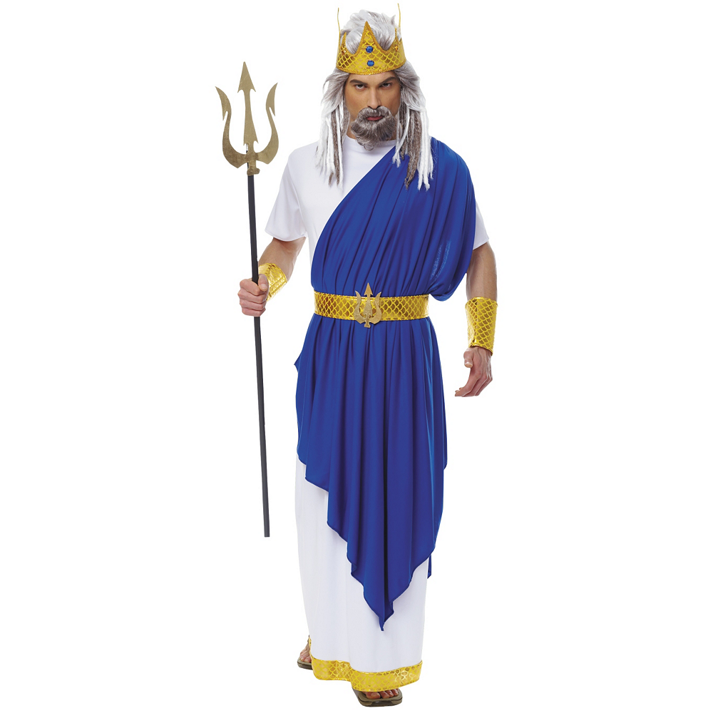 Nav Item for Adult Neptune Costume Image #1