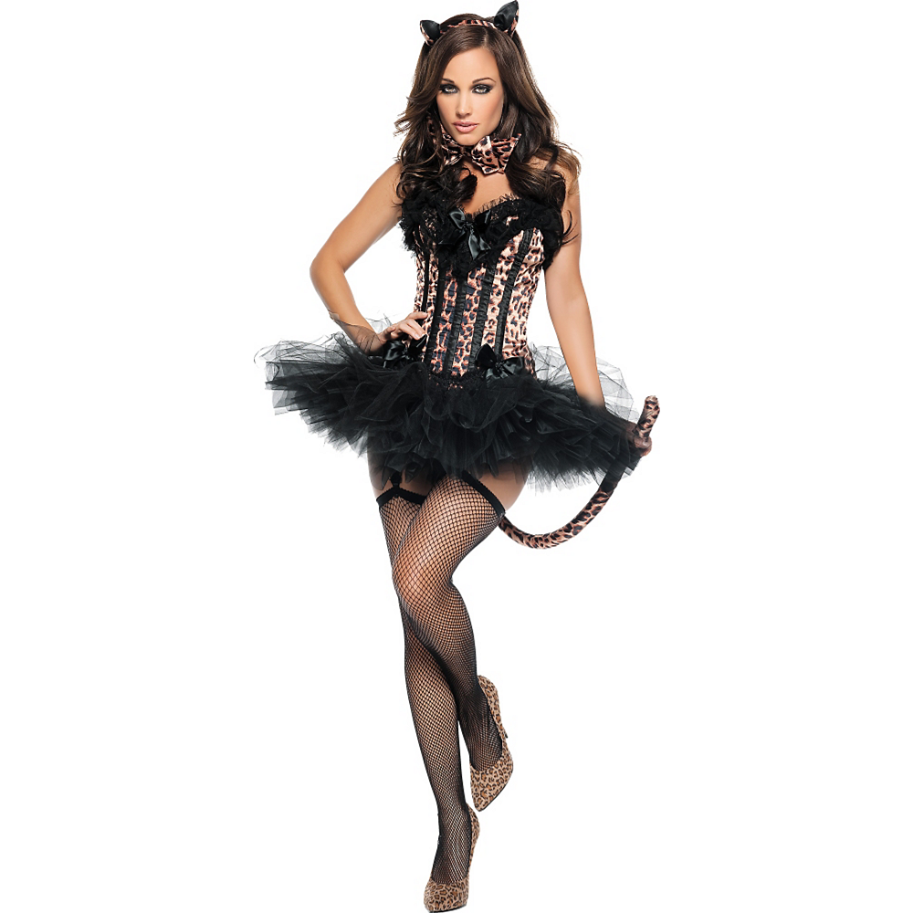 467d80db6386 Adult Carousel Sexy Leopard Costume | Party City Canada